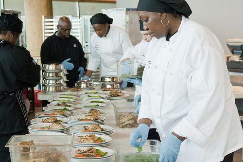 how to staff catering events