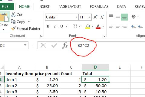 how to calculate food costs 2