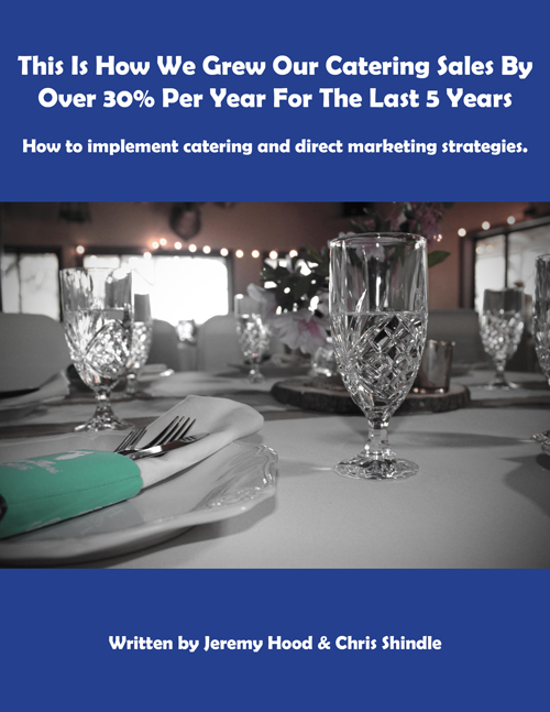 catering direct marketing strategy e-book